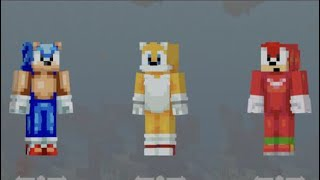 minecraft pocket edition sonic mania plus skin pack