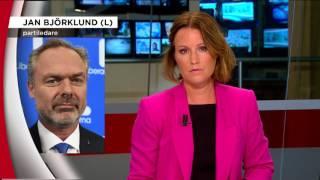 """Björklund: """"Det behövs ytterligare information innan vi tar ställning"""" - Nyheterna (TV4)"""