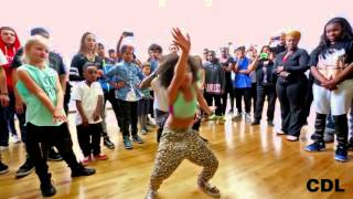 LES TWINS AT CITY DANCE SAN FRANCISCO  KIDS ONLY 2015