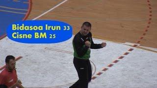 Imágenes del partido Bidasoa Irun 33 - Cisne BM 25 | Txingudi Online