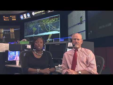 ISS Mission Control Interview with the Digital Learning Network