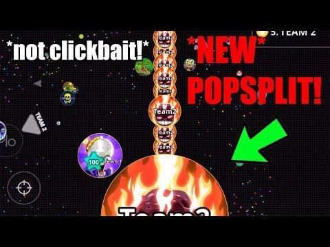 AGAR.IO MOBILE - WEIRDEST LINESPLIT EVER! | CRAZY CANNON POPSPLIT | SERVER DESTRUCTION | AGARIO! thumbnail