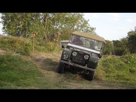 Land Rover Series I rescuing another Series I