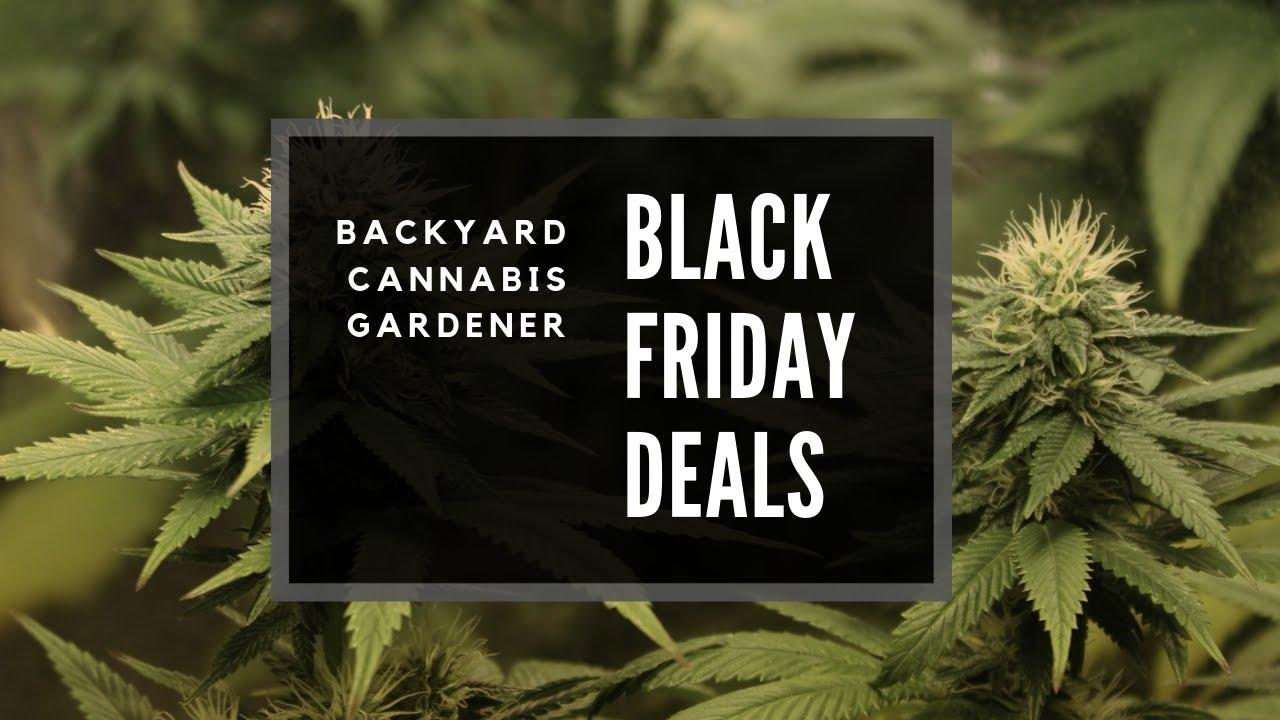 Best 2018 Black Friday Deals For Marijuana Growers Smokers Youtube