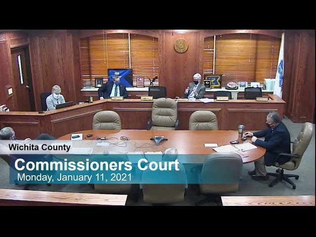 Commissioners Court 1/11/2021