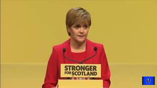 SNP Conference: Nicola Sturgeon