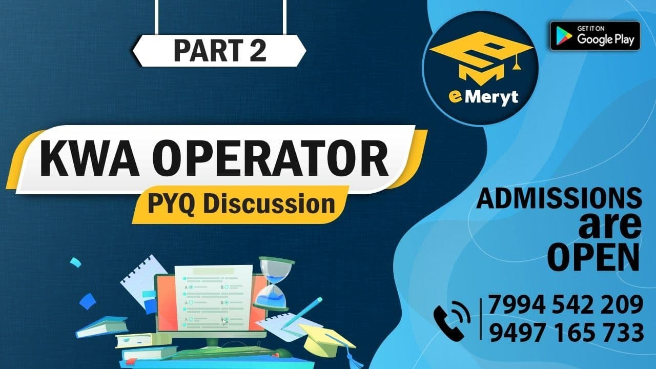 Download KWA OPERATOR 2015 Question Paper Discussion Part 2