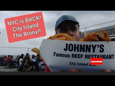 City Island #TheBronx NY.Had my 1st fried schrimp ever! Me comi mi 1r camaron Frito en mi vida!