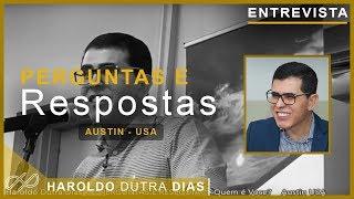 ENTREVISTA - Perguntas e Respostas - Austin -  USA