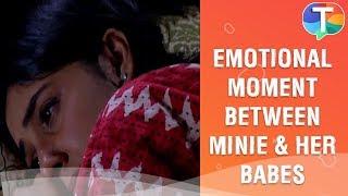 Emotional moment between Minie and Babita Ji Patiala Babes