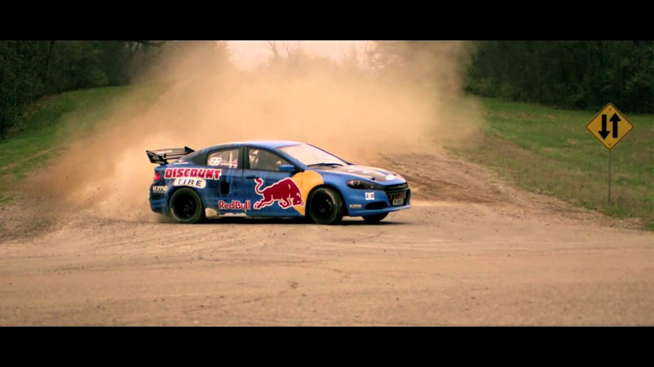 Lafontaine Dodge Travis Pastrana 2017 Dart Rally Car Saline Mi