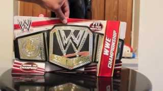 2013 WWE CHAMPIONSHIP MATTEL KIDS TOY BELT REVIEW