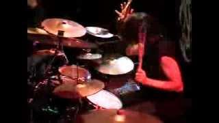 NOMINON - 'Black Chapel,' Nashville, TN 7/21/08 drum shot Perra Karlsson