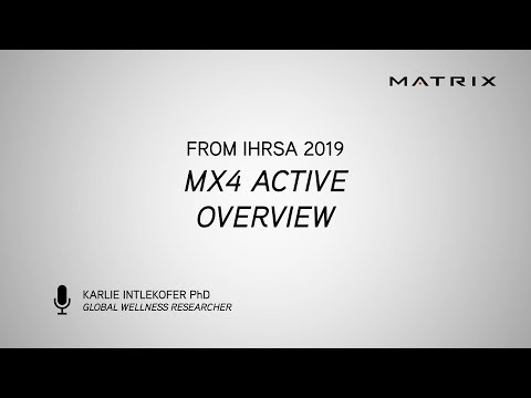 IHRSA 2019 - MX4 Active Overview