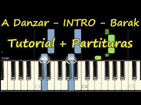 A DANZAR BARAK INTRO Piano Tutorial Cover Facil + Partitura PDF Sheet Music Easy Midi thumbnail