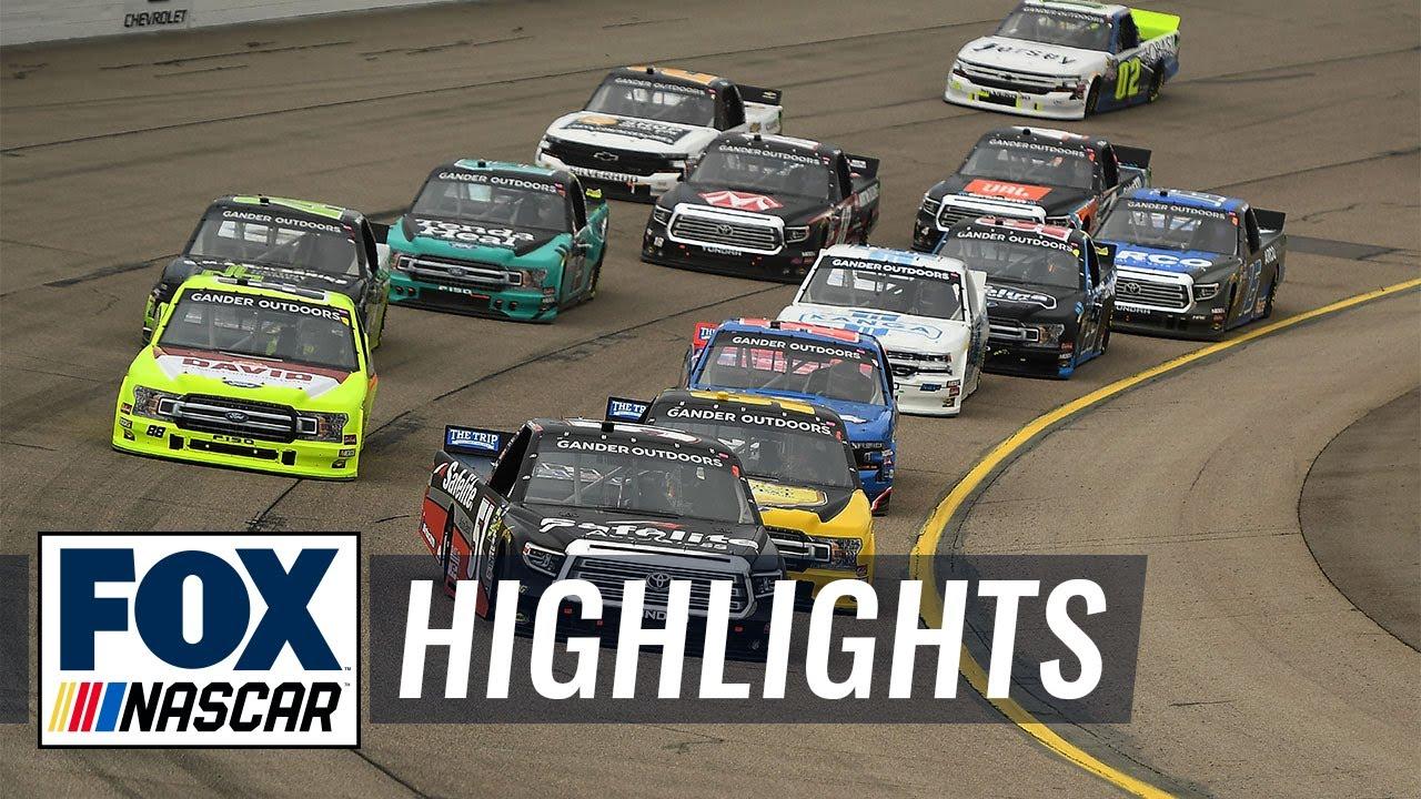 M&M 200 at Iowa | NASCAR on FOX HIGHLIGHTS