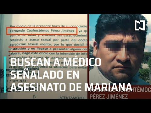 Giran orden de aprehensión contra presunto feminicida de Mariana Sánchez en Chiapas - En Punto