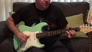 Surf Green Strat Guitars
