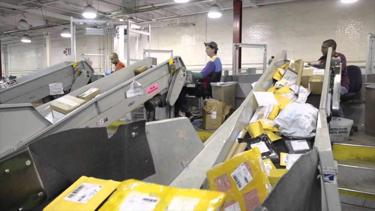 Behind the scene look at the post office youtube - Post office working today ...