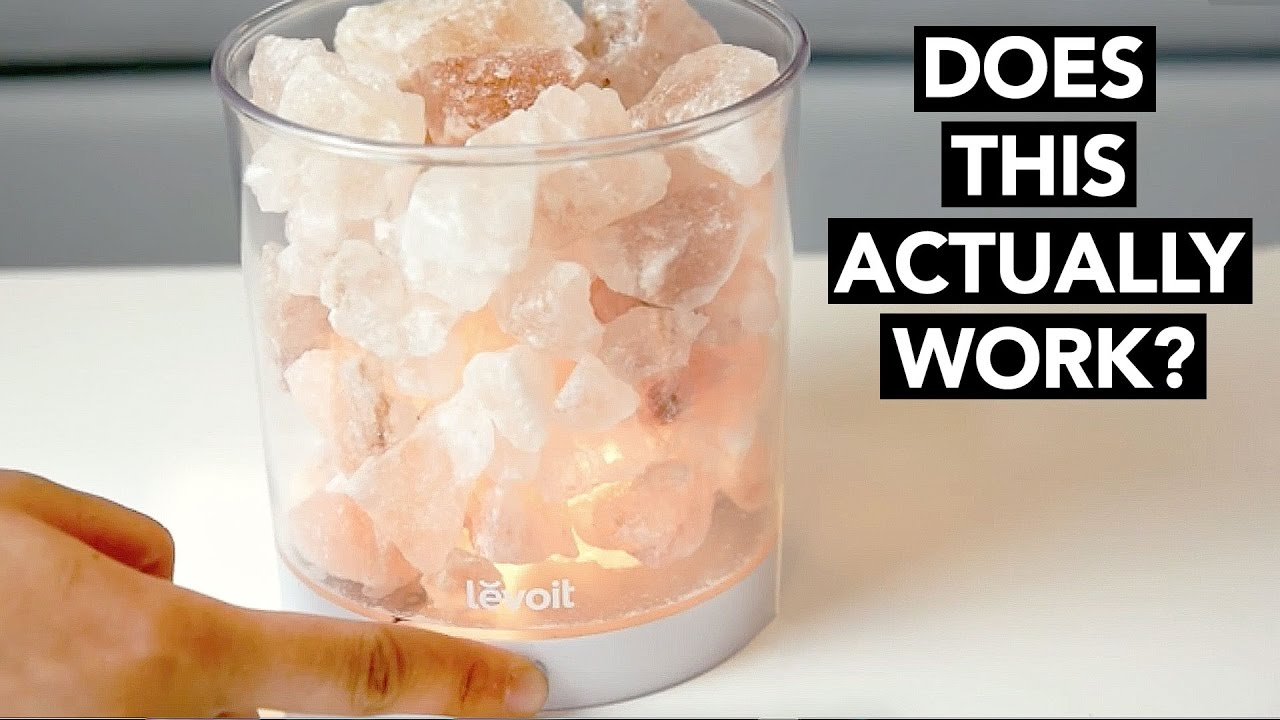 Himalayan Salt Lamp Review & Unboxing - Do they actually ...