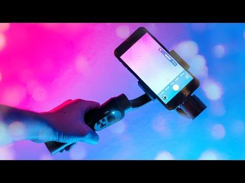 IPhone X/8 Plus Gimbal: Zhiyun Smooth Q 📷 4K Review & Vlog