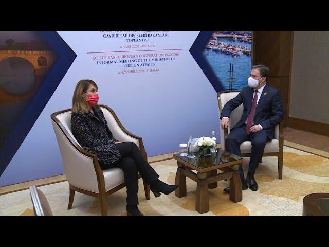 [06.11.2020.] Министар Селаковић са генералном секретарком Регионалног савета за сарадњу (РСС)