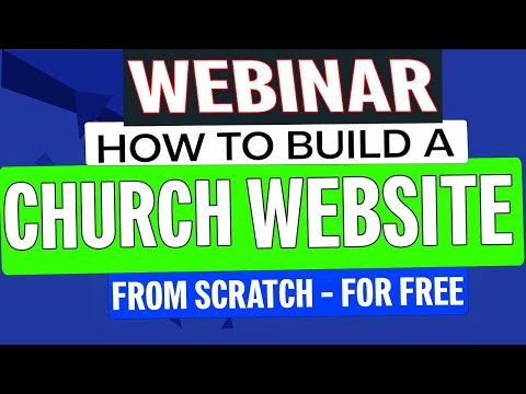 How to build a church website with wordpress?