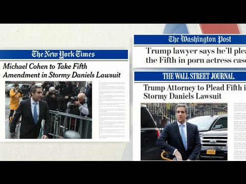 Michael Cohen to plead the Fifth; what does that mean for Trump?