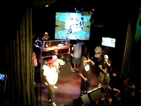 Slaughterhouse Performs At Redbull's - EmSee - The Road To 8 Mile : Freestyle Battle