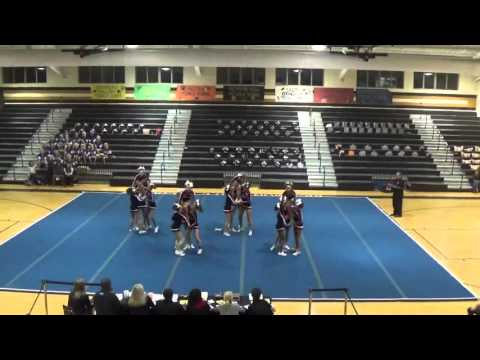 South Effingham Middle School Competition Cheerleading- Region 2015 1st place