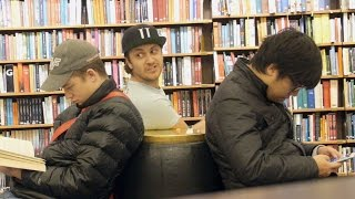 Eating In Library Prank (GONE FOOD)