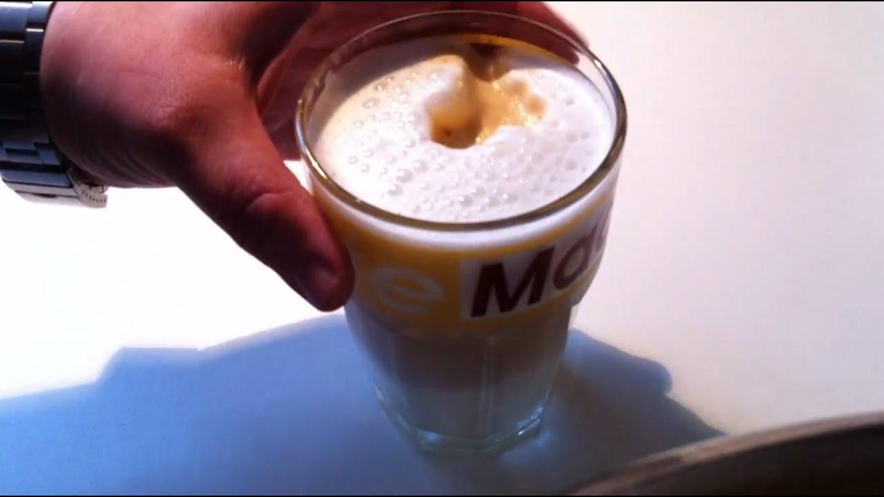 rezept: latte macchiato selber machen - youtube