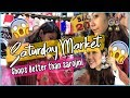 Shopping In SATURDAY MARKET | BETTER THAN SAROJINI😍 TryOn Haul| ThatQuirkyMiss