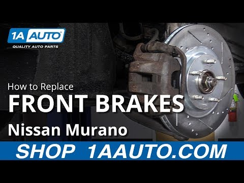 How to Replace Front Brakes 09-14 Nissan Murano