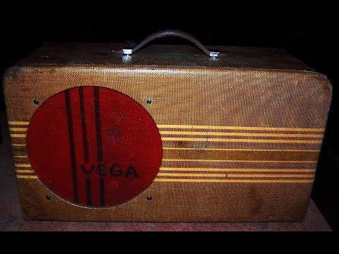 Rare & Wonderful 1940 VEGA Model 112 Guitar Amp....Wow !!!