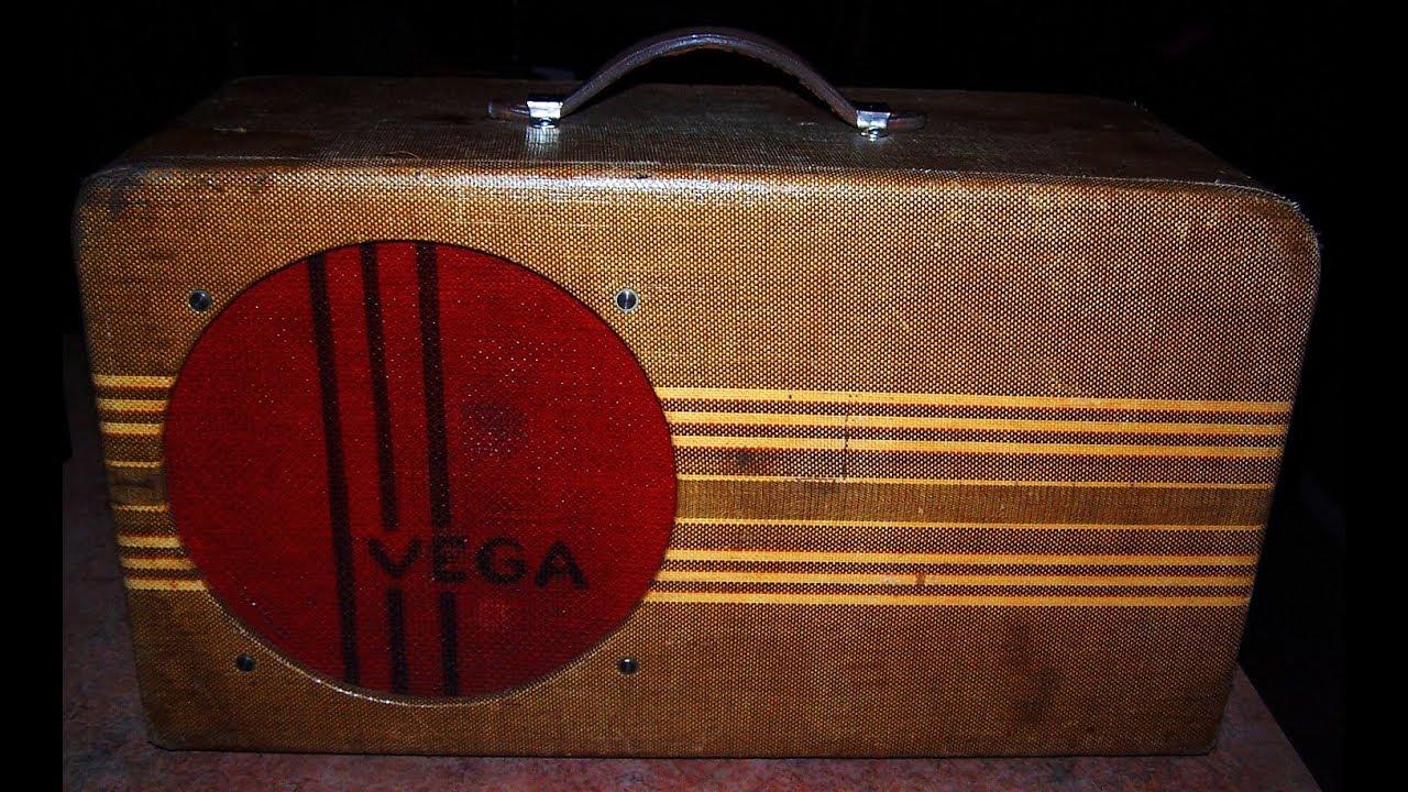 Rare & Wonderful 1940 VEGA Model 112 Guitar Amp    Wow !!!