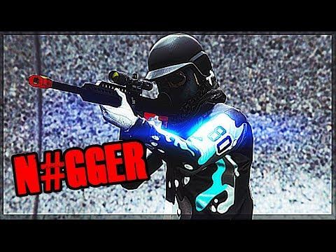 Racist Tryhard Rage af.. Hilarious! (GTA 5 Online)