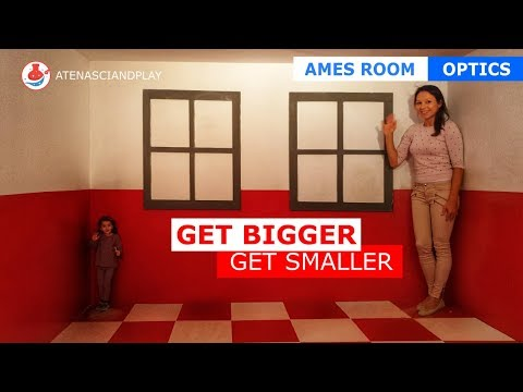 Ames Room Illusion, Science Activities For Kids, AtenaSciAndPlay