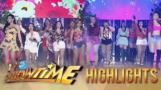 Viva Hot Babes and Sexbomb's throwback performance | It's Showtime