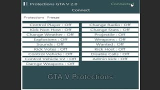 GTA V Protections & Freeze | Tool Rtm 1.27 Free Download