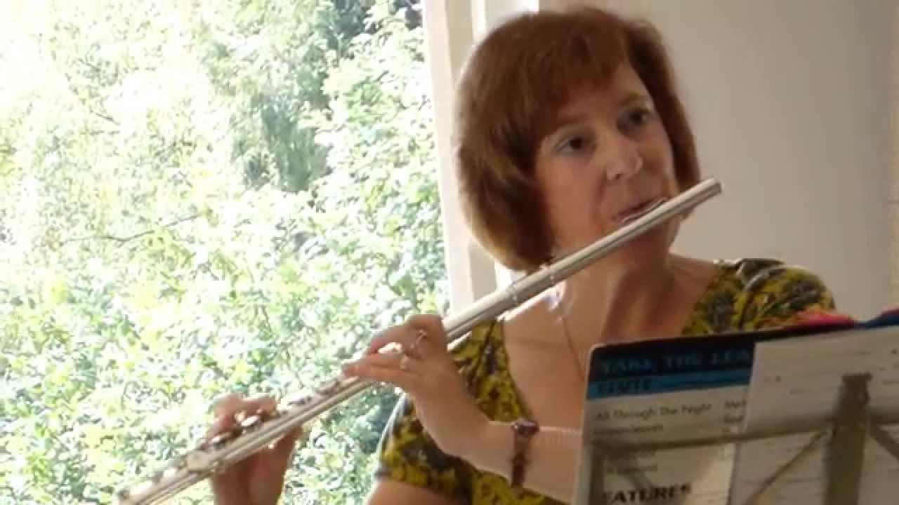 Mary Gorniak - Greensleeves - English folk song - Flautuleikur