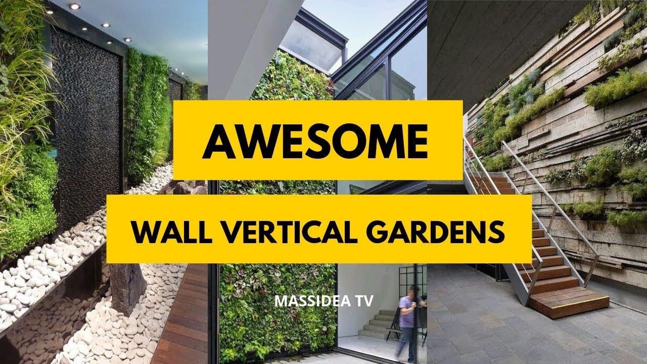 50 Cool Green Wall Vertical Garden Ideas From Pinterest