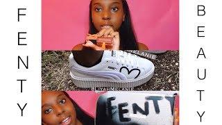 Fenty Beauty Gloss Bomb & Fenty x Puma Clara Lionel Creepers Unboxing!!