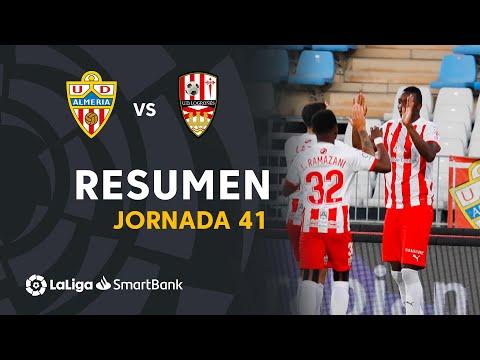 Almeria Logrones Goals And Highlights