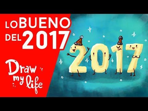 LO MEJOR que nos ha pasado EN 2017 - Draw My Life en Español