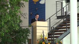 2012 Aarhus University Herning Student Graduation Speech