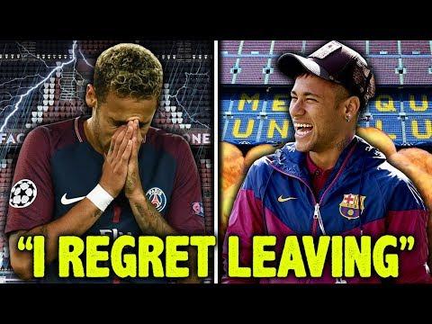 LEAKED: Neymar Reveals He Regrets Leaving Barcelona For PSG?! | Futbol Mundial