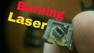 How to make Burning Laser from DVD Player