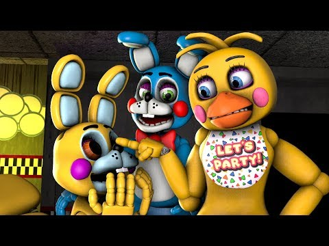 Ace Meets Toy Chica
