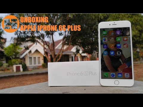 Unboxing Apple Iphone 6s Plus Indonesia